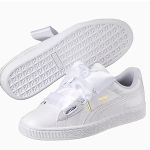 Basket heart women's puma sneakers